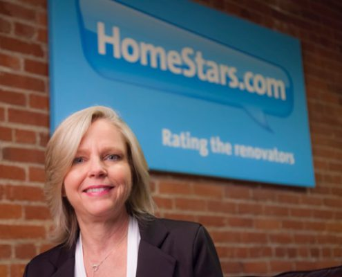 Nancy Peterson, fondatrice et chef de la direction de HomeStars